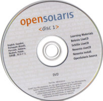 Cd de Opensolaris 2008.05