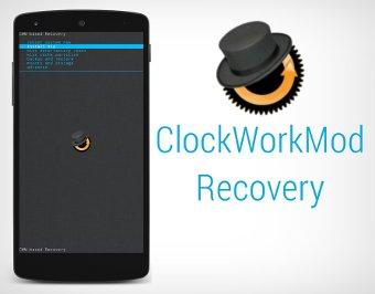 ClockWorkMod Recovery en el Nexus 5
