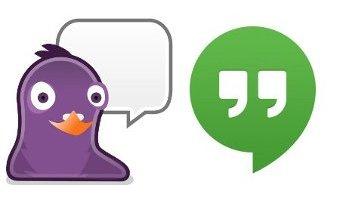 Configurar Hangouts en el cliente de mensajería pidgin