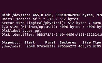 Crear una particion de cierto tamaño desde línea de comandos