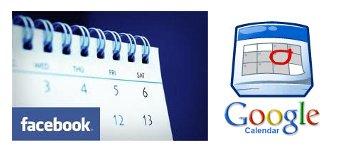 Eventos de Facebook en Google Calendar