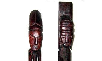 Figuras de madera de Indonesia