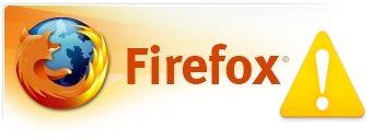 Bug en Firefox
