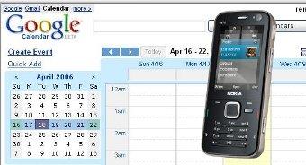 Sincronizar el n78 con google calendar