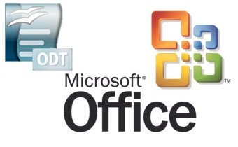 Microsoft Office con ODF extension odt