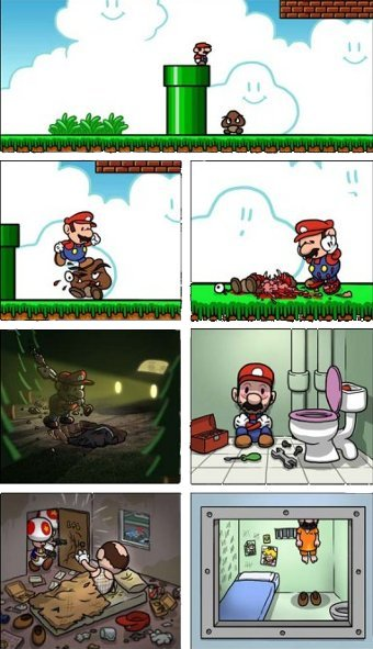 El otro final de Super Mario Bros