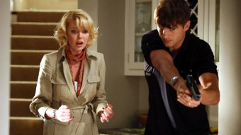 Ashton Kutcher y Katherine Heigl en Killers